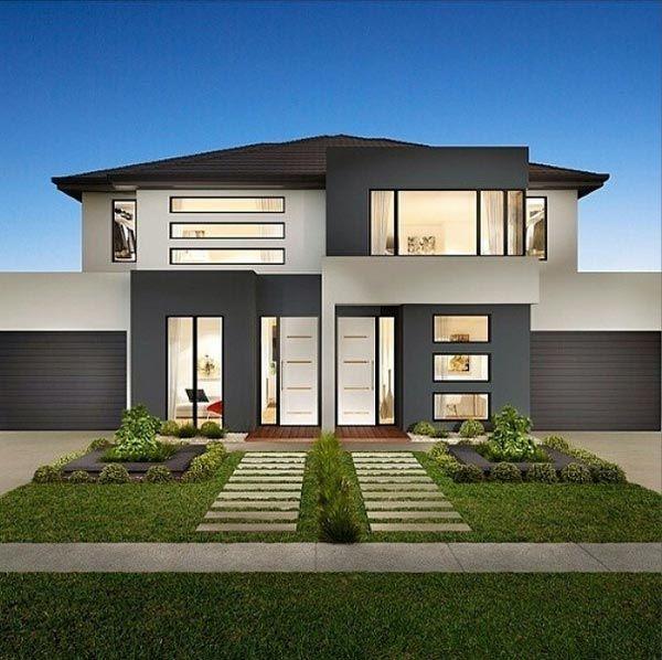 Entradas de casas buscar con google casa pinterest for Casas modernas jardines