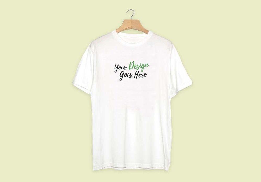 Download White Shirt On Hanger Mockup Mockupworld Clothing Mockup Plain White T Shirt Shirt Mockup