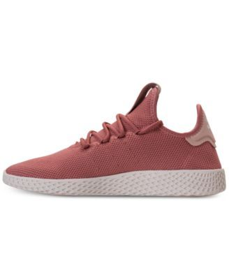 ce70f1d95f09a adidas Women s Originals Pharrell Williams Tennis Hu Casual Sneakers from  Finish Line - Pink 10