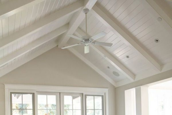 Beadboard Ceiling Project Trim Carpentry Vaulted