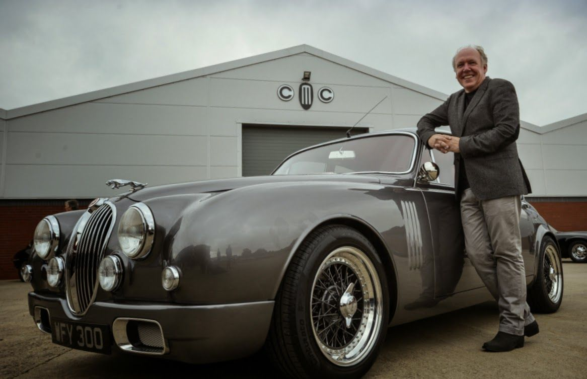 When you are the design head of Jaguar, I guess you can drive the Jag of your choice and Ian Callum found the one he wanted. Although i...