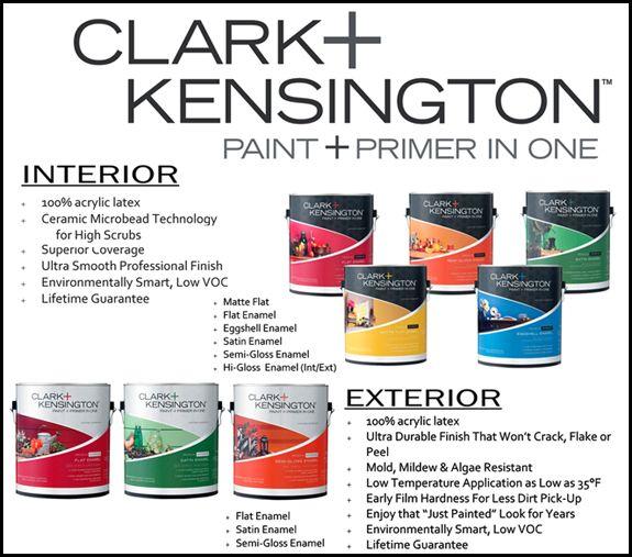 Clark kensington paint is great quality for a good price - Clark and kensington exterior paint ...