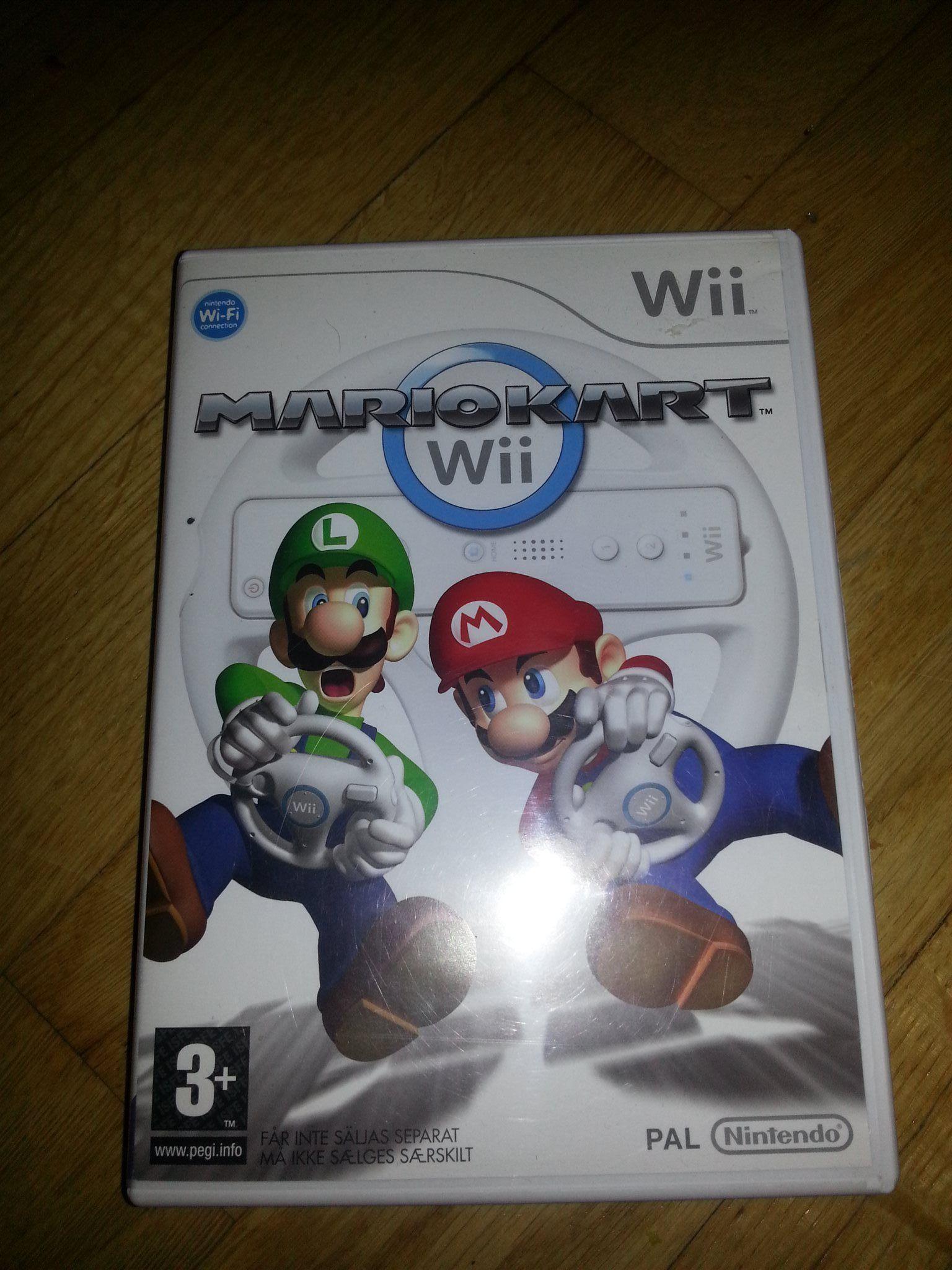 Mario Kart Spel Wii