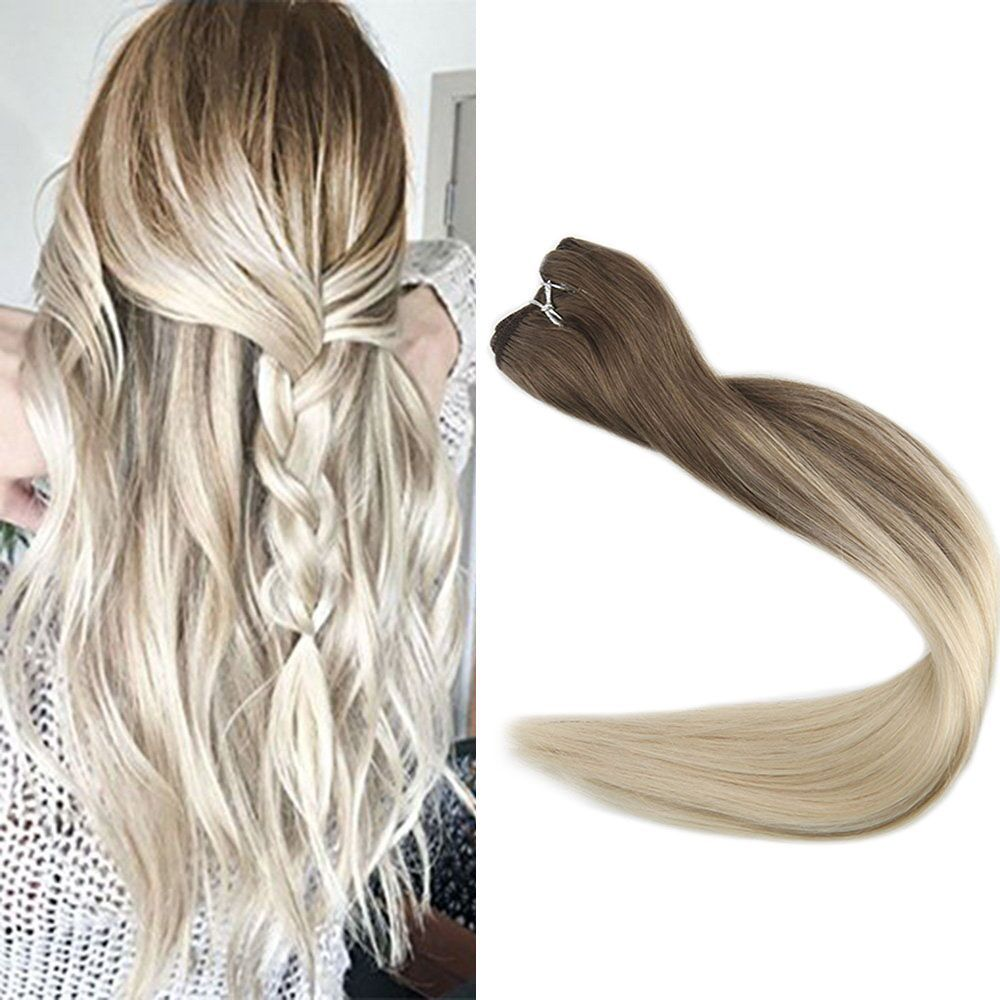 Ombre Sew In Hair Extensions Remy Hair Extensions Ombre Hair Weft