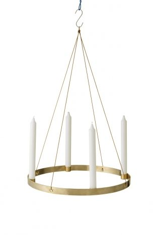 Lys Vintage Candle Holder Circle Adventskranz Shop - Was Heißt Retro