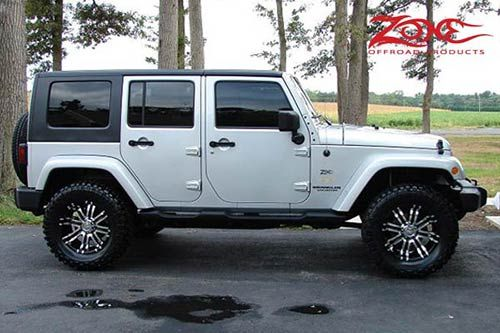 2007 10 Jeep Wrangler Jk 4 Door 2 Spacer Lift Kit Jeep Wrangler Jk Lift Kits Jeep