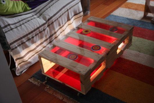 kaffeetisch glasplatte ideen für möbel holzpaletten
