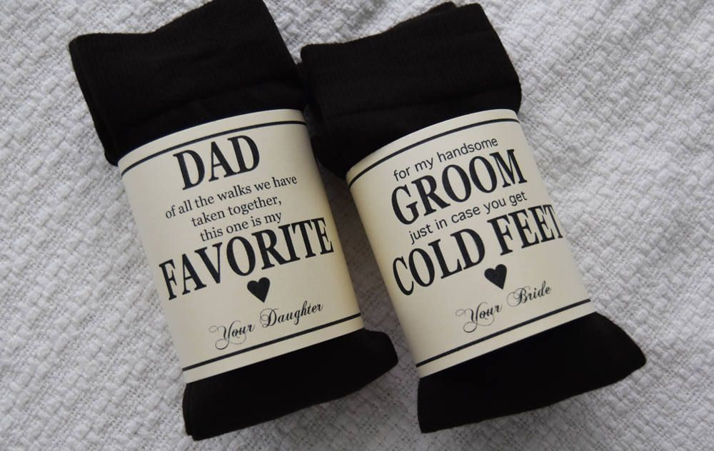 Father of the Bride gift - Mens Dress Socks - of all our walks - Wedding Gift - Dad Gift - Father of the Bride socks - wedding socks - black YAQRAidAnG