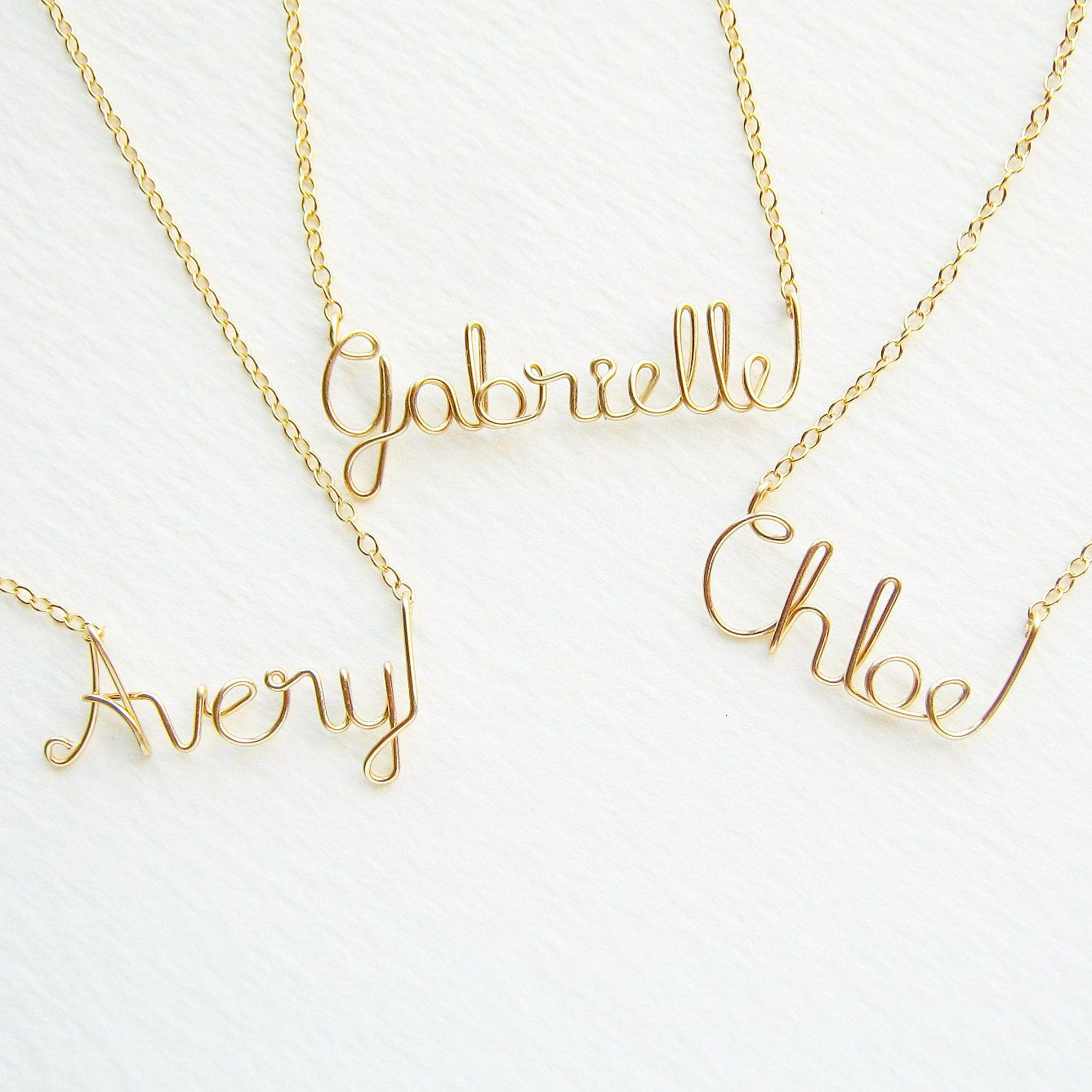 and necklace baby image set gold name plated personalized of small bracelet product kid img
