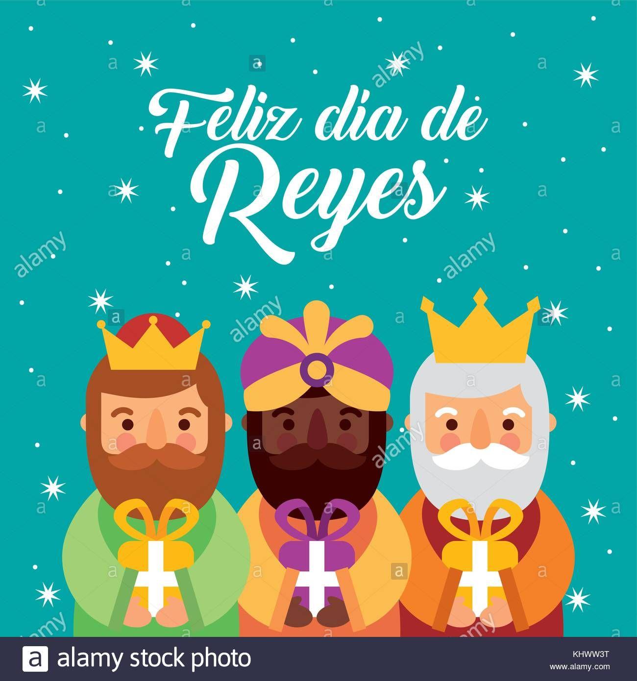 Dias De Reyes Magos Descargar descargar este vector: feliz dia de los reyes tres reyes