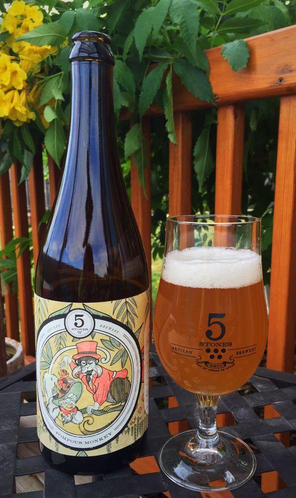 5 Stones Artisan Brewery: Pompous Monkey