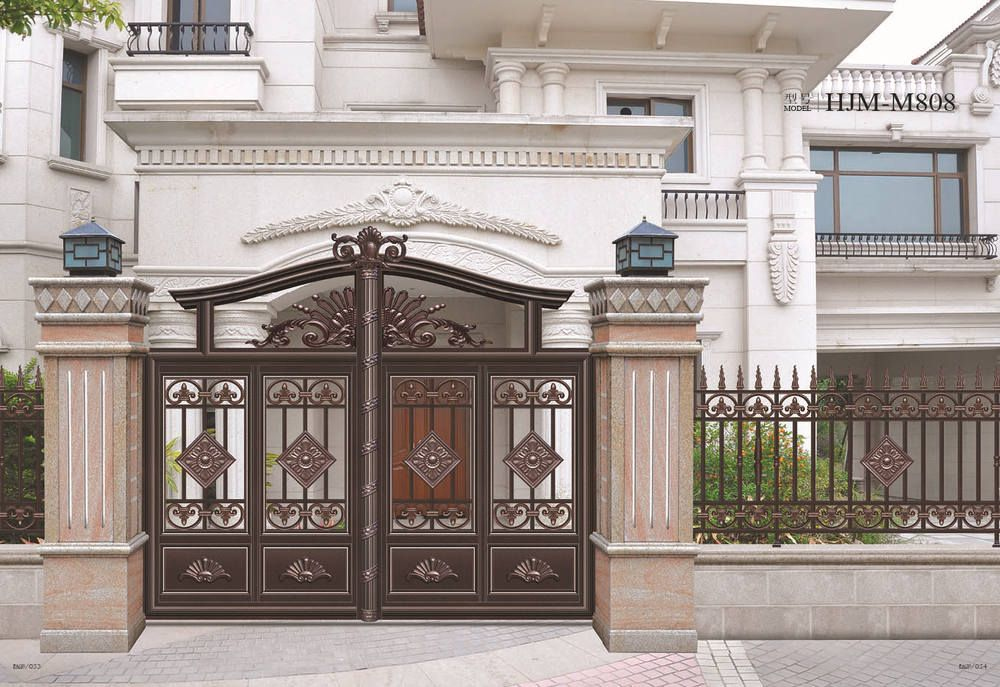 17 Elegant Gates To Transform Your Yard Into Inviting Place: House Steel Gate Designs, View Steel Gate, Oumei Product