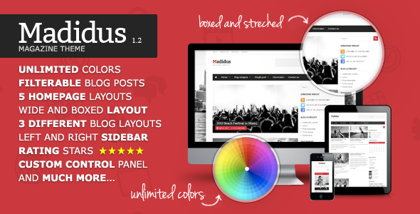 Theme Madidus 1.2.8 – Blog & Magazine Theme | Download Premium ...