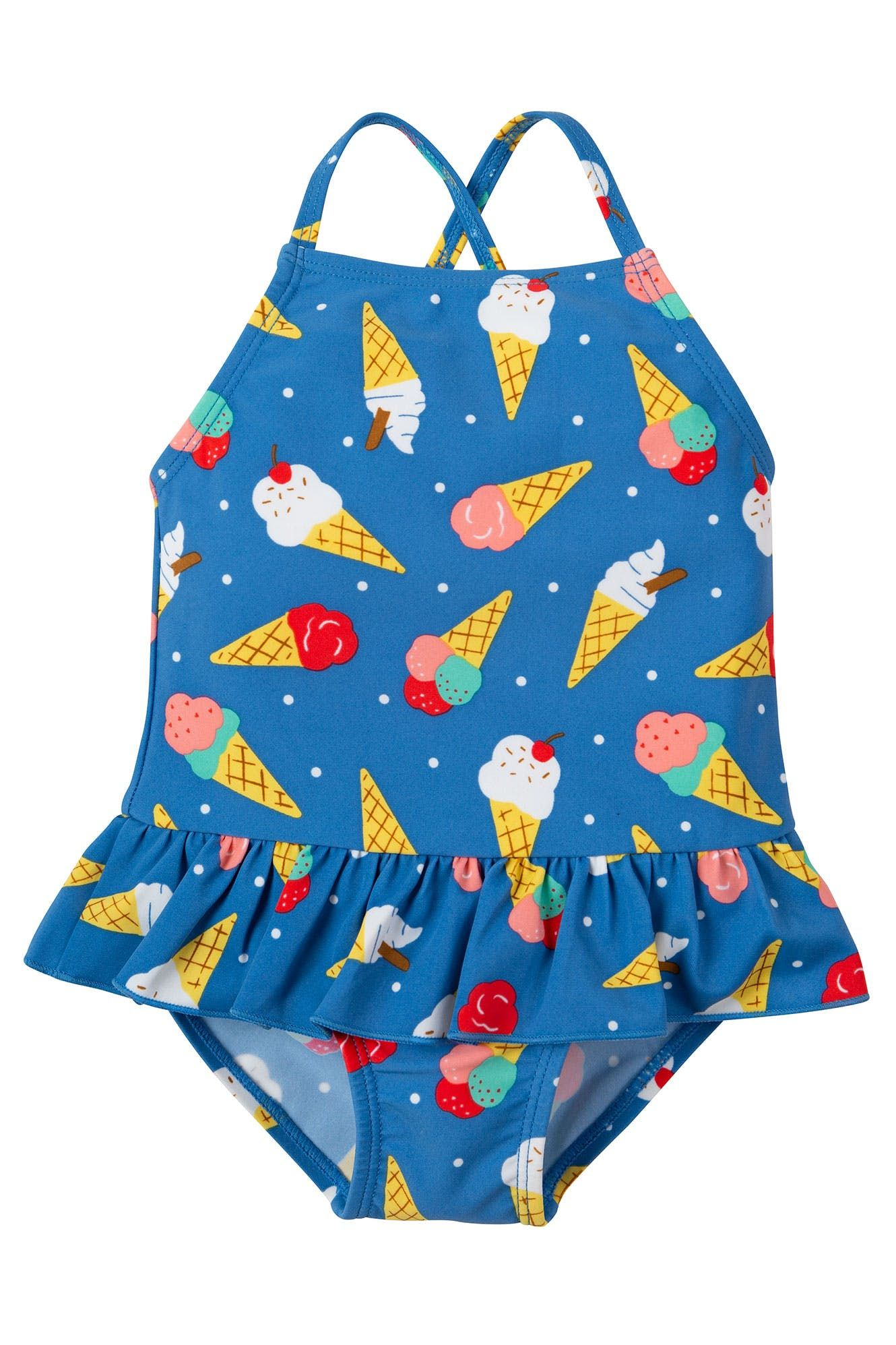 65f45b4ae7 Your little one will be ready for any adventure at the beach or by the pool  with this colourful Little Coral Swimsuit from our Swimwear range!