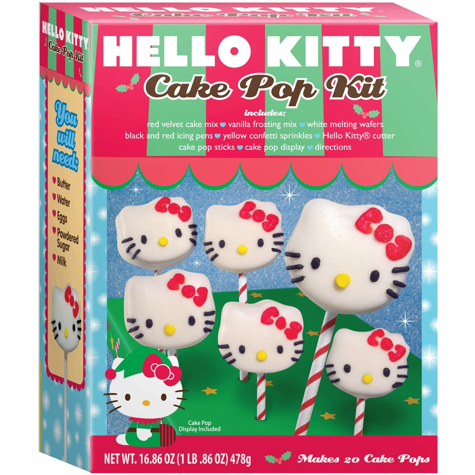 Hello Kitty Cake Pop Kit hello kitty party Pinterest Hello
