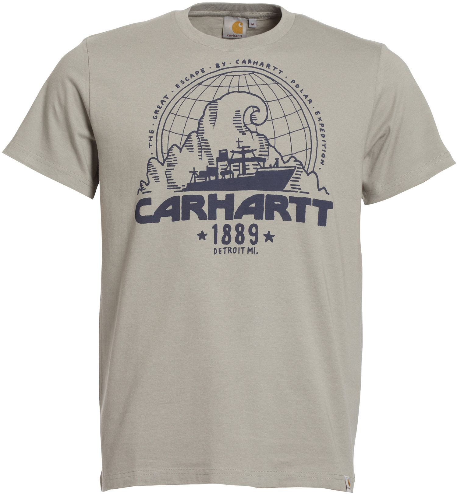 new products fashion unique design Carhartt T-SHIRT EXPEDITION / Beige | E-shop Citadium | ARMY ...