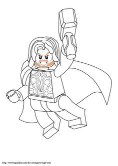 Lego Thor Coloring Pages Enjoy Coloring Lego Coloring Pages