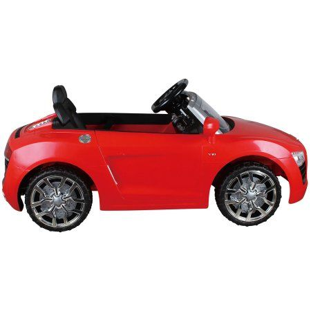 buy audi white first drive kids cars electric power ride on car w remote new at online store