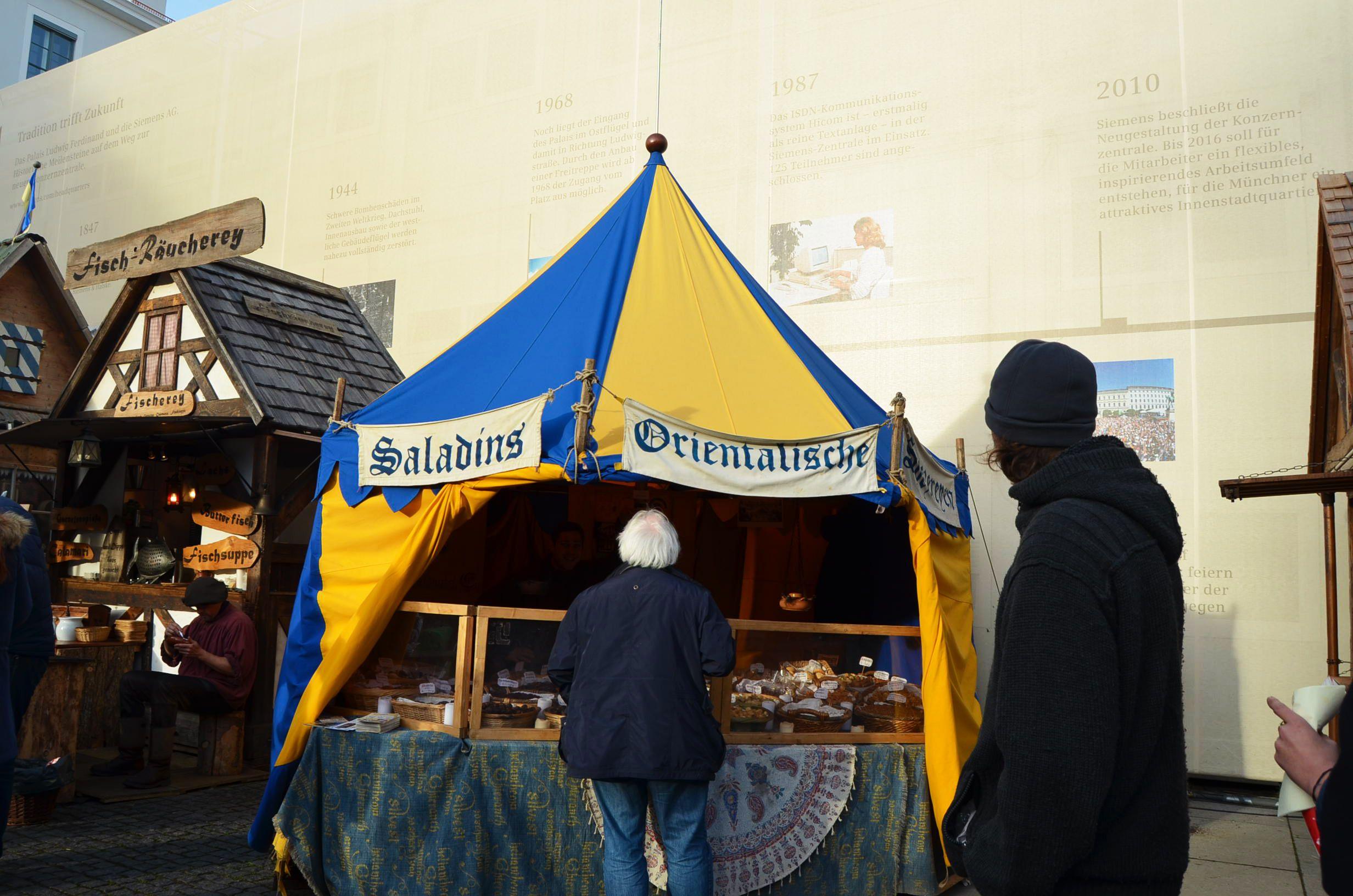 Mercado navideño medieval Múnich