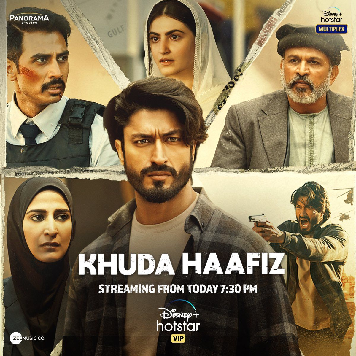 Khuda Haafiz movie Review, Releasing today at this time