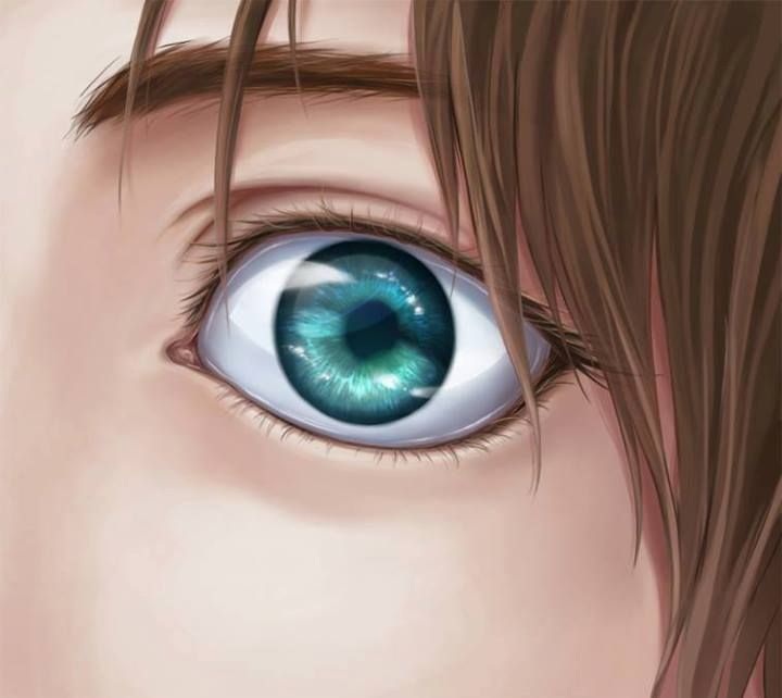 #Eren  Beautiful eyes