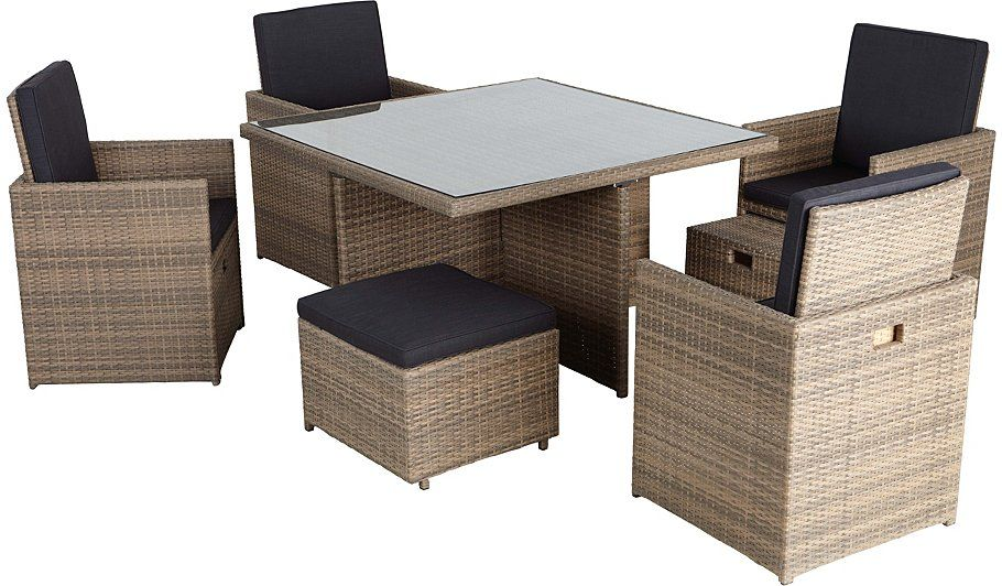 499 Borneo 9 Piece Cube Dining Set Read Reviews And Buy Online At George At Asda Shop From Our Latest Outdoor Furniture Sets Modular Design Outdoor Ottoman