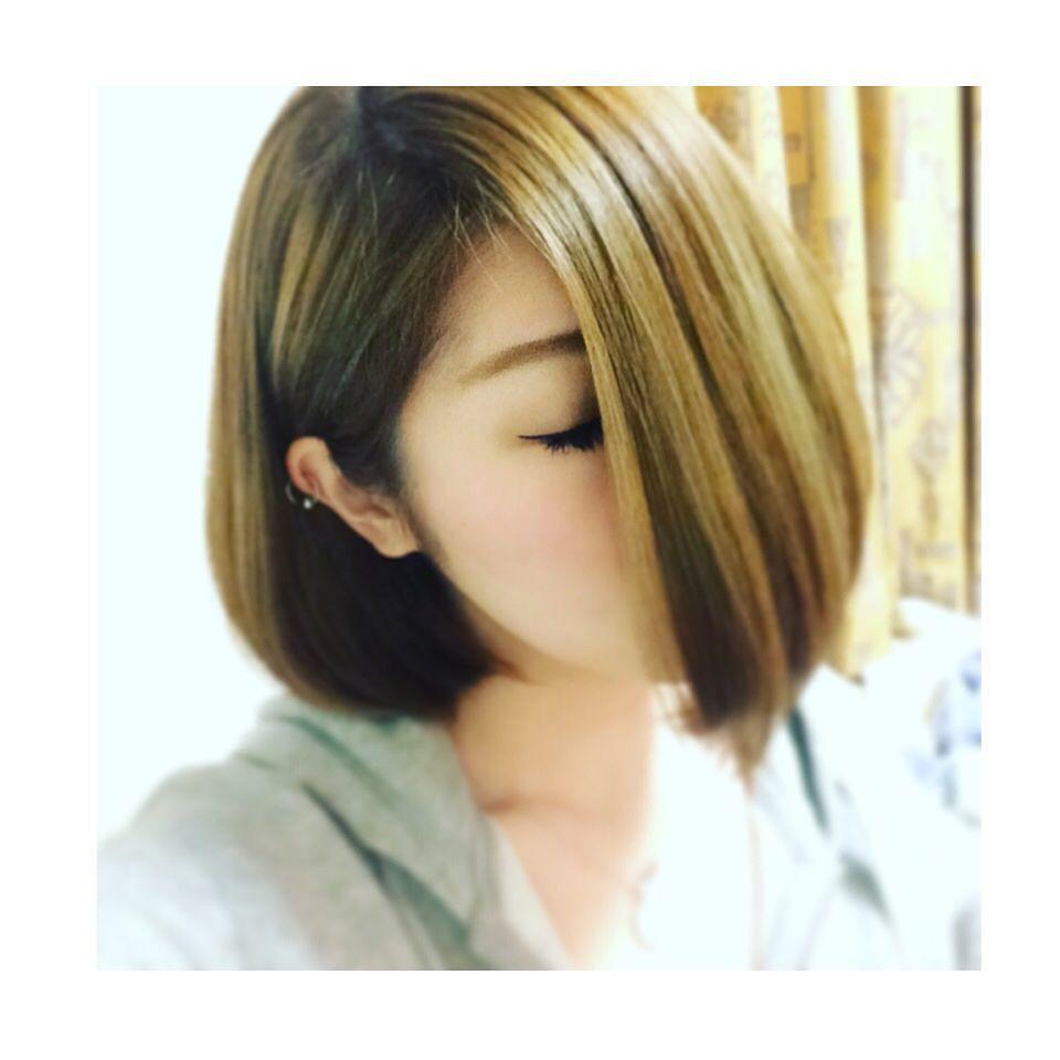 キクチユキさんはinstagramを利用しています ぱつーんとワンレンボブ