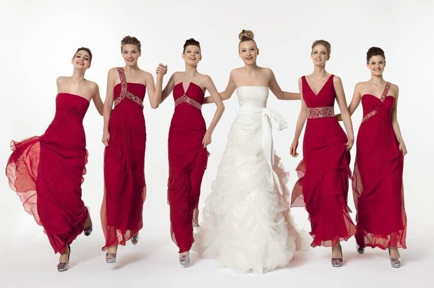 Madrinhas com mesma cor... | wedding | Pinterest | Damas