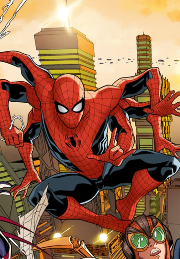 First Look: SPIDER-MAN 2099 #6 | Newsarama.com _DEUX_