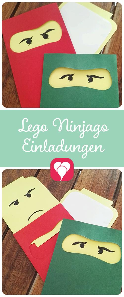 Lego Einladung Wie Gestaltet Man Eigentlich Eine Tolle Einladung Für Eine  Ninjago Party?