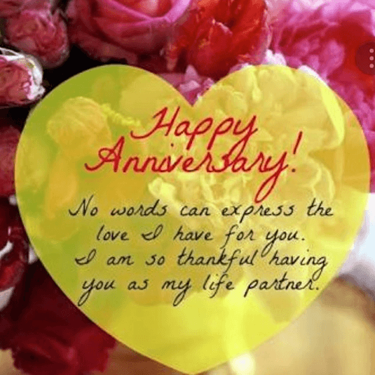 Marriage Anniversary Quotationjs In English