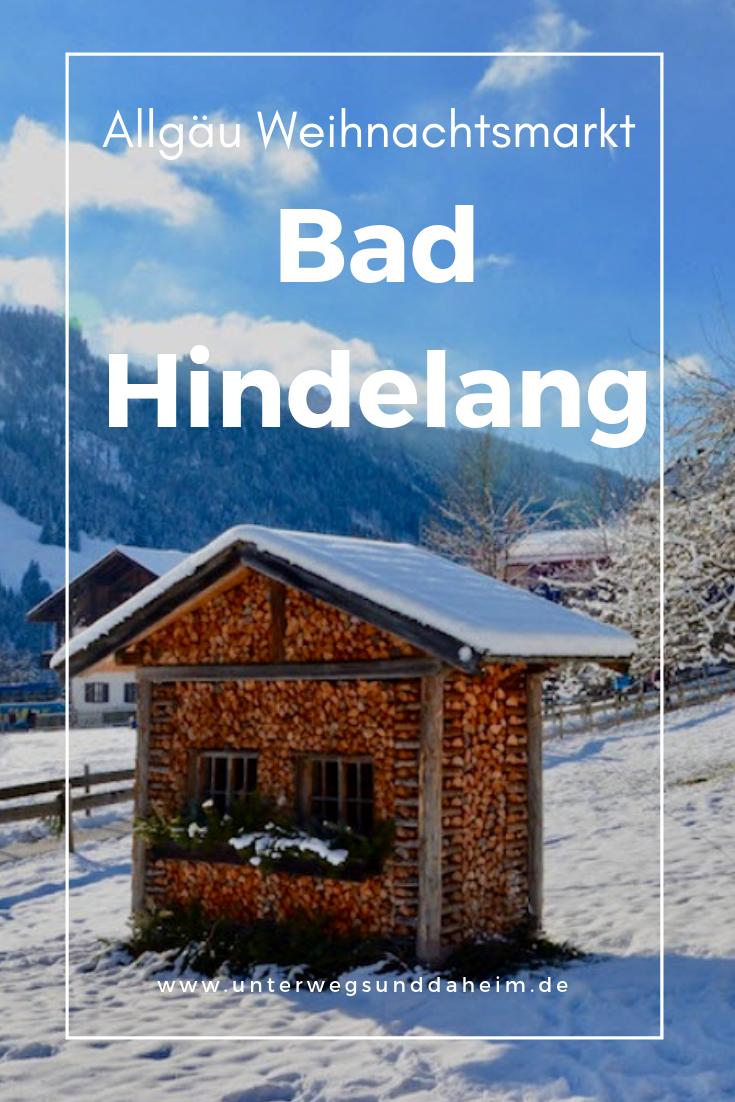 Bad Hindelang Weihnachtsmarkt.Traditioneller Allgauer Weihnachtsmarkt In Bad Hindelang