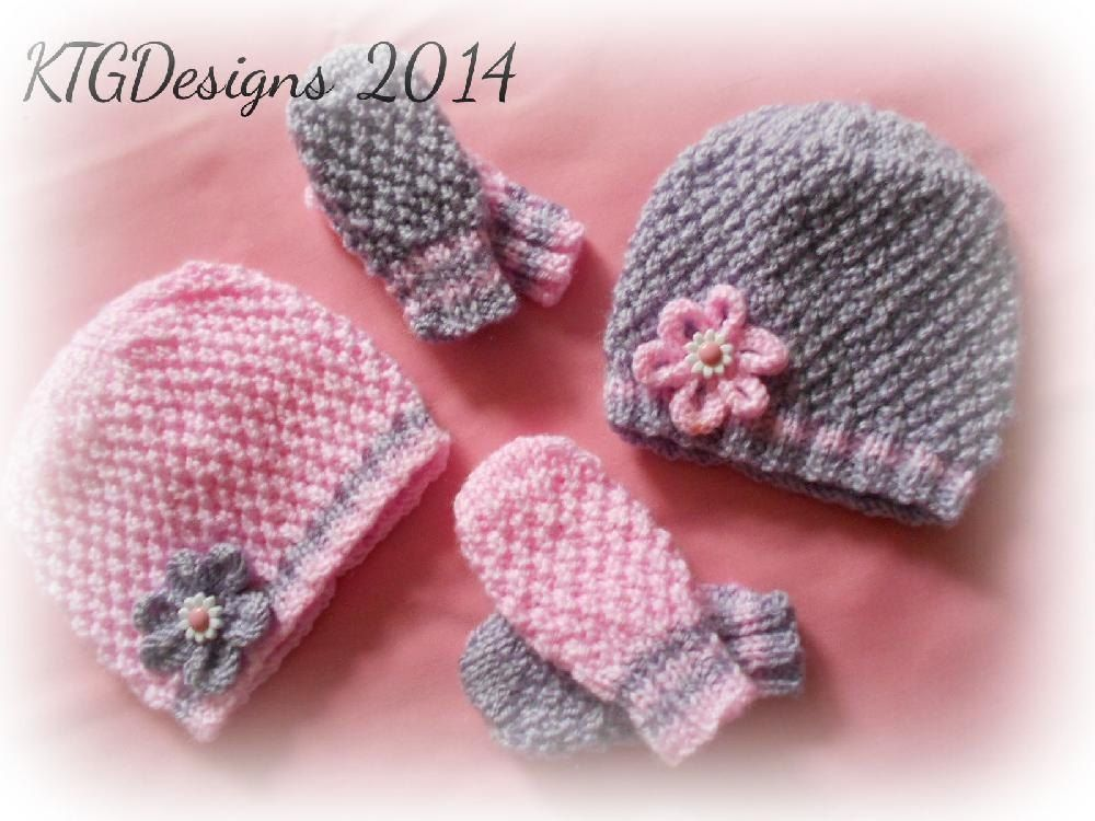Grace Hat Mitts Set Double Knitting Knitting Patterns And Mittens