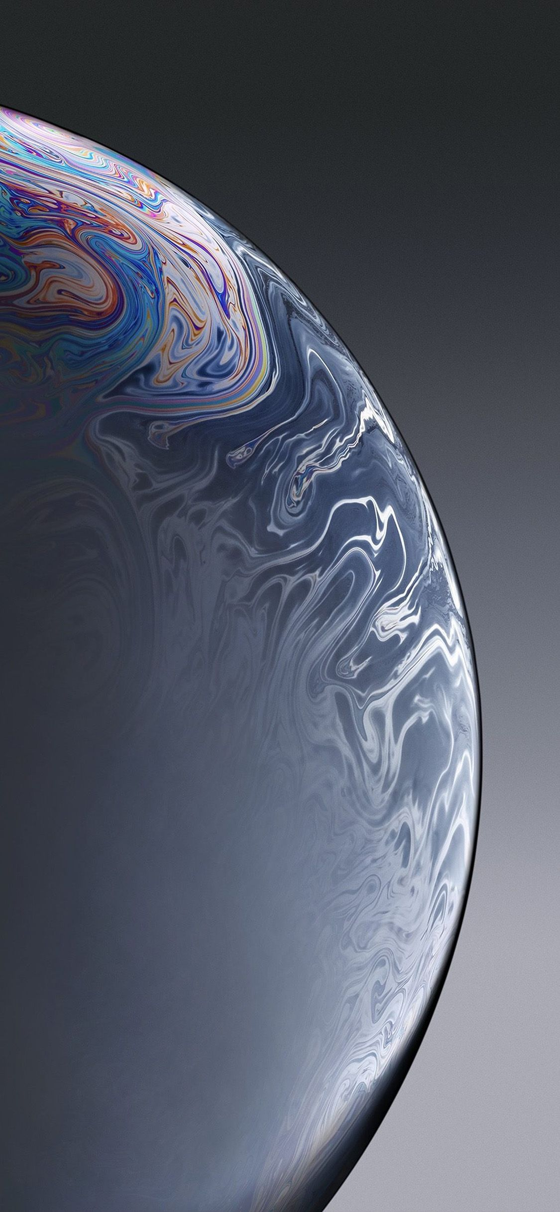 Bg38 Apple Iphone Xs Space Official Art Gray Bubble Via Http Iphonexpapers Com Wallp Apple Wallpaper Iphone Original Iphone Wallpaper Wallpaper Iphone Ios7