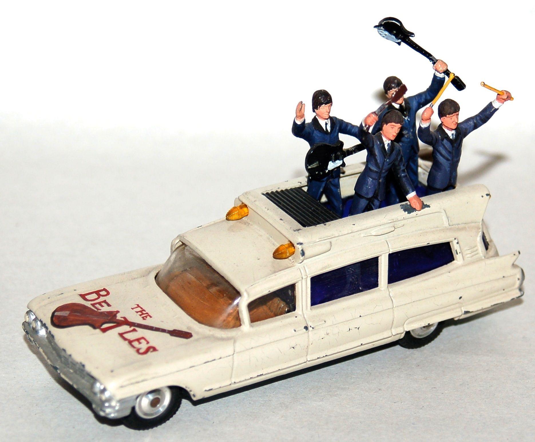 Beatlesblog Corgi Toys Die Cast Prototype