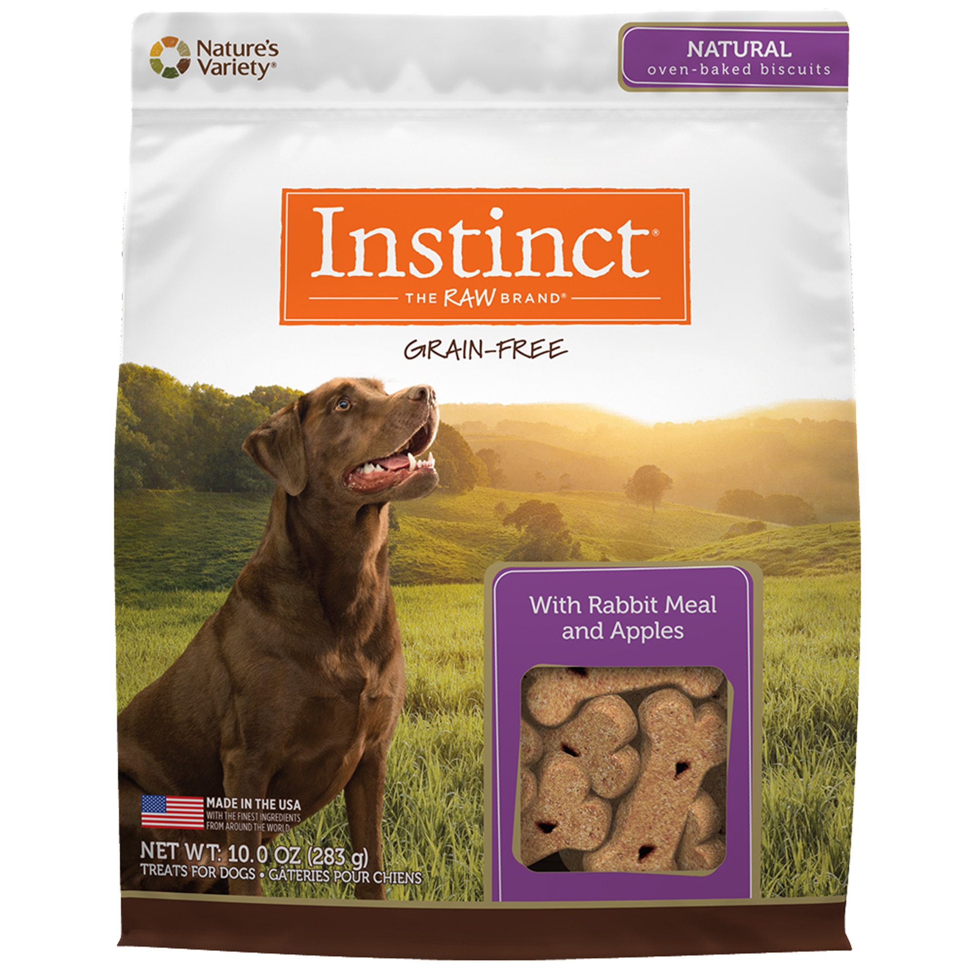 Instinct Grain Free Rabbit Apples Biscuits By Nature S Variety