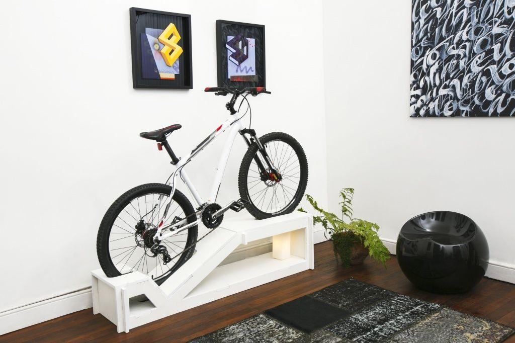 Bike como destaque na decoração