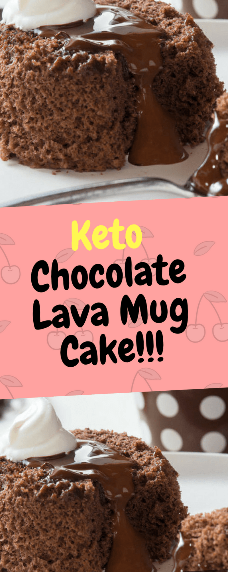 I've had a love for the Chocolate lava cake as long as I can remember, but now, I can enjoy a Keto Chocolate Lava Mug Cake recipe that only takes seconds to make!! I made this mug cake recipe for my daughter and she immediately asked me to teach her how to make it herself! … #mugcake