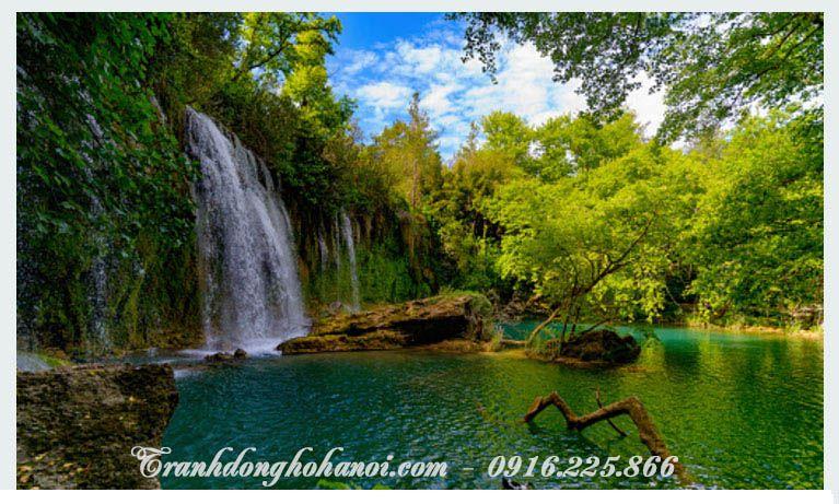 Tranh cảnh thác nước đẹp cho ngôi nhà