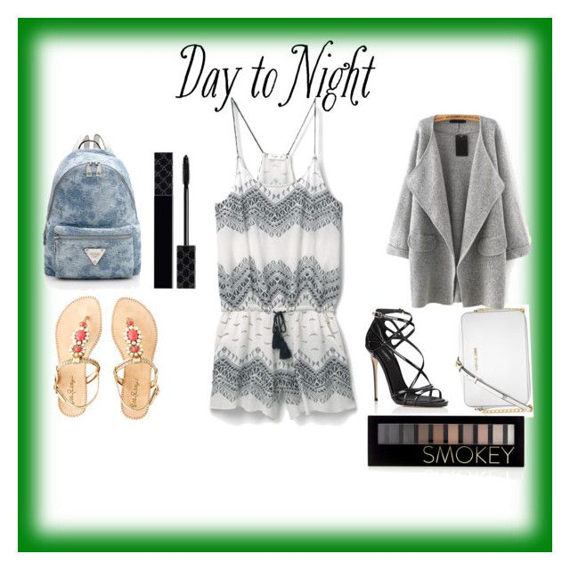 """Day-Night"" by saschaborisovna ❤ liked on Polyvore featuring MANGO, Dolce&Gabbana, Michael Kors, Lilly Pulitzer, Forever 21, Gucci, DayToNight, contest, day and Night"