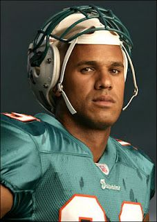 Jason Taylor, DE Miami Dolphins (as a Jets fan, I'm ashamed to incl him on this list)