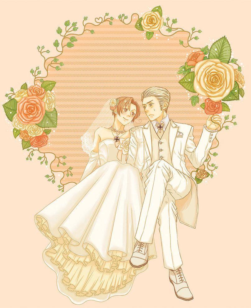 Read Manga Warm Wedding: Hetalia, Anime Wedding