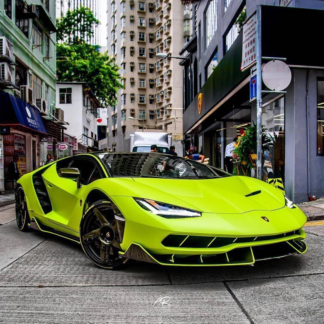 Centenario. The fastest cars in the world