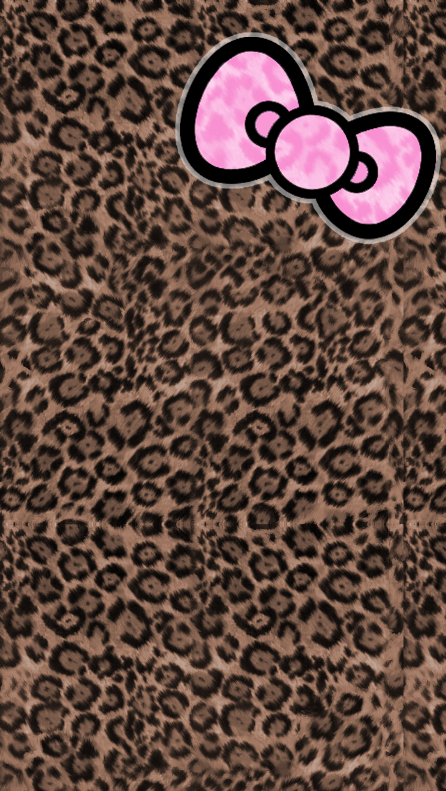 Hello Kitty Cheetah Wallpaper