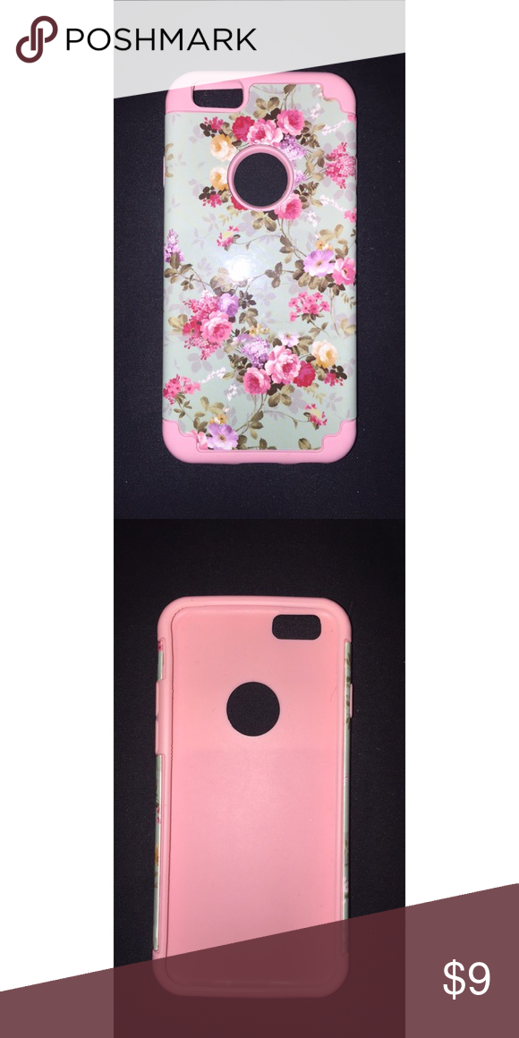 Floral iPhone 6/6s case Floral print case with rubber