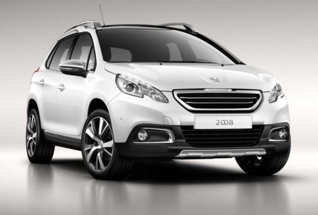 2014 Peugeot 2008 Crossover Peugeot 2008 Compact Suv Peugeot