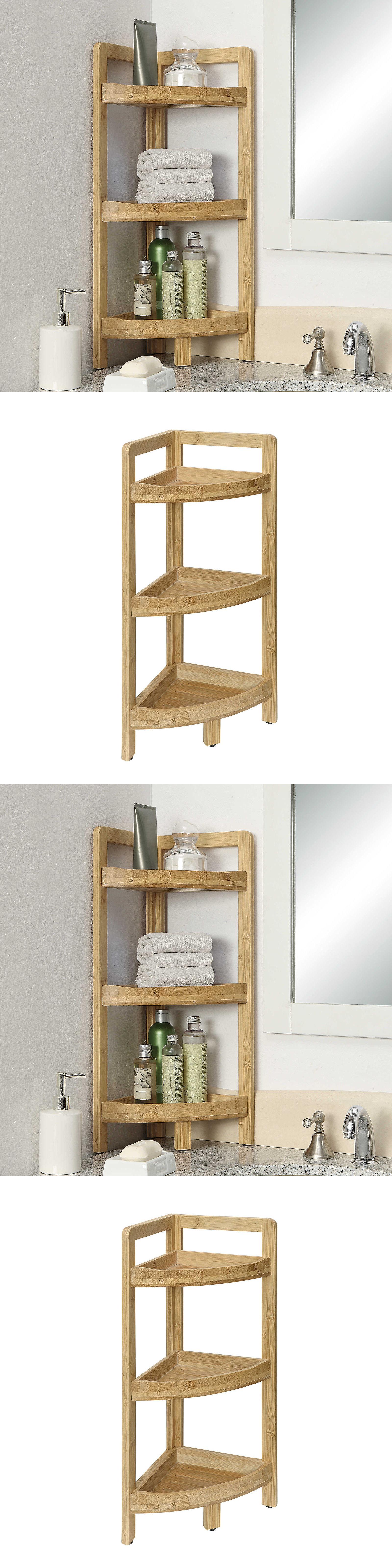Shelves 31385: Bathroom Corner Shelf Shower Space Saver Towel ...