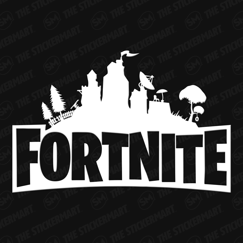 Fortnite Logo 2 Vinyl Decal Fortnite Vinyl Decals Decals