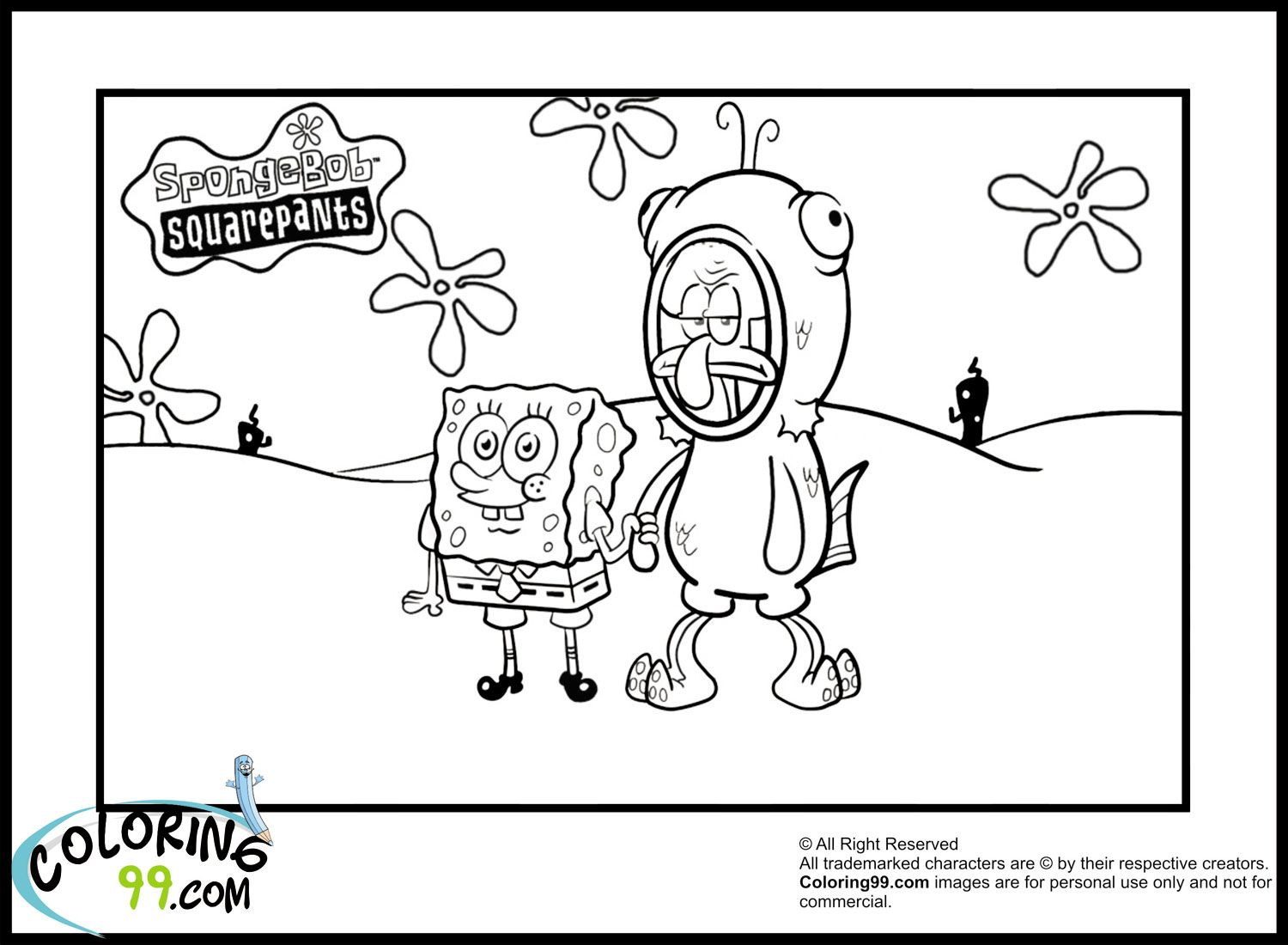 Spongebob Coloring Pages spongebob coloring pages for