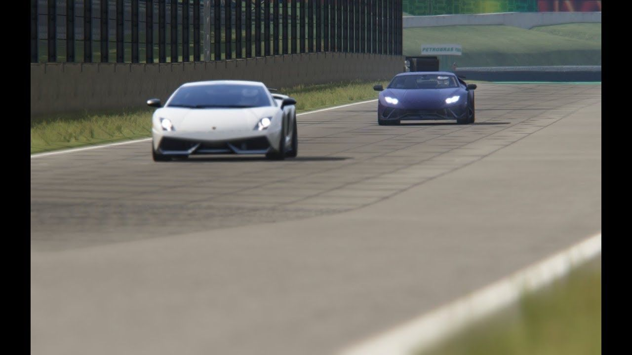 Lamborghini Huracan Performante Vs Lamborghini Gallardo SL At Interlagos